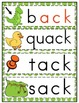 Word Family 'ack' (Word Work Activities)