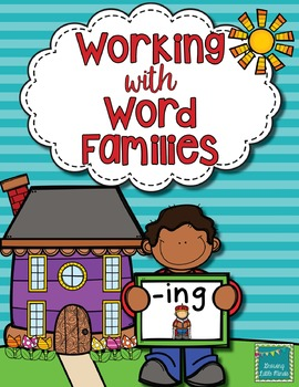 Word Family activities- ing
