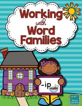 Word Family activities- ip