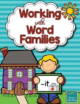 Word Family activities- it