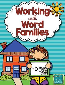 Word Family activities- og