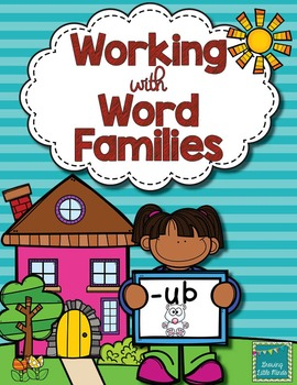 Word Family activities- ub
