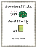 "Word Family - ""ad"" family"