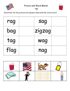 Identify Word and Write: AG Words | Vocabulary words, Printable ...