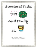 "Word Family - ""ail"" family"