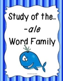 Word Family -ale Study
