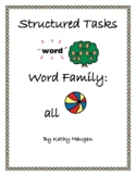 "Word Family - ""all"" Family"
