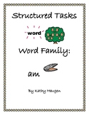 "Word Family - ""am"" Family"