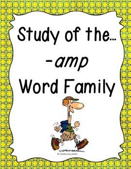 Word Family -amp Study