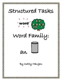 "Word Family - ""an"" Family"
