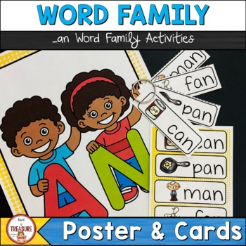 Word Family -an (Poster and Flash Cards)