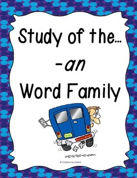 Word Family -an Study