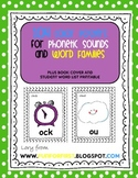 Word Family and Sounds Full Color Poster Set