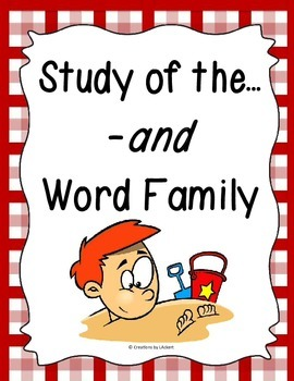Word Family -and Study
