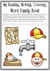 Word Family: -ap Activity Sheet and Book