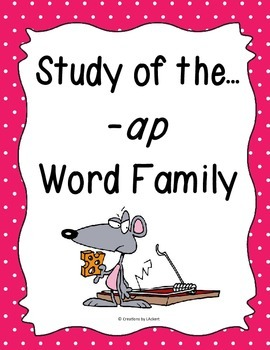 Word Family -ap Study