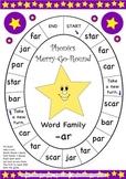 Word Family -ar Phonics Merry-G-Round Game
