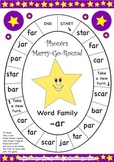 Word Family -ar Phonics Merry-G-Round Game
