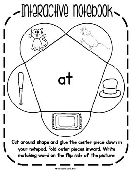 Word Family 'at' Activities and Worksheets