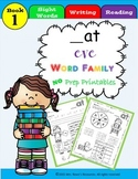 at Word Family Work CVC Words