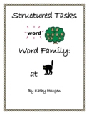 "Word Family - ""at"" Family"
