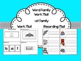 Word Family: -at Mat