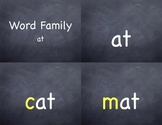 Word Family at Quicktime Movies IWB and iPod with printable PDFs