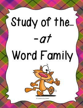 Word Family -at Study