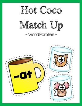 Word Family coco match