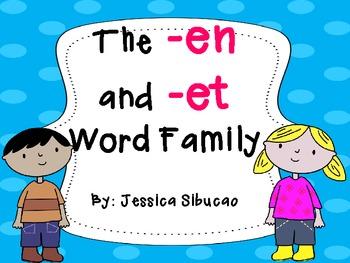 Word Family (-en and -et)
