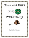 "Word Family - ""ent"" Family"