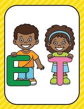 Word Family -et (Poster and Flash Cards)