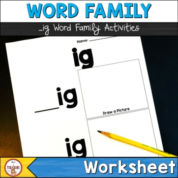 Word Family -ig
