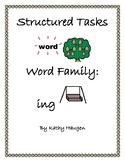 "Word Family - ""ing"" family"
