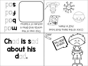 Word Families mini books