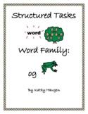"""Word Family - """"og"""" family"""