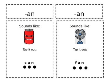 Word Family review -an