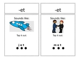 Word Family review -et