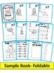 Word Family short E CVC FOLDABLE Mini Books (12 page mini books)