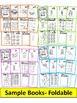 Word Family, short vowel 25 CVC FOLDABLE BOOKS-BUNDLE PACK