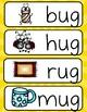 Word Family -ug (Poster and Flash Cards)
