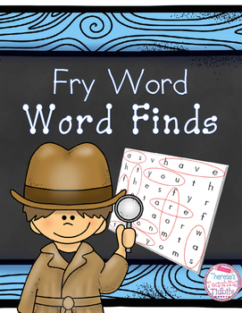 Fry Word Word Finds