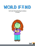 Word Find Packet - 36 Weeks - 2nd Grade Reading Vocabulary