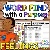 Word Find with a Purpose: Feelings