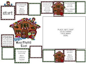 Word Finding Elves Game (word retrieval, expressive vocabulary)
