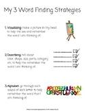 Word Finding Strategies Visual