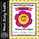 Word Flower Power--Prefix Practice for Un- and Re- {FREEBIE}
