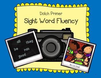 Word Fluency: Dolch Primer Sight Words