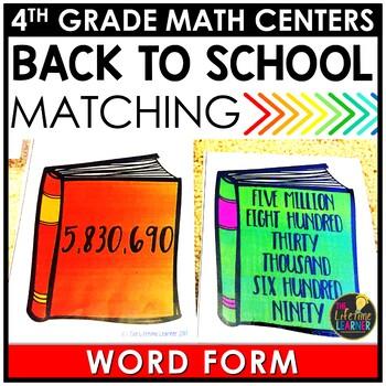 Word Form August Math Center