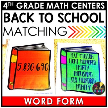 Word Form Back to School Game